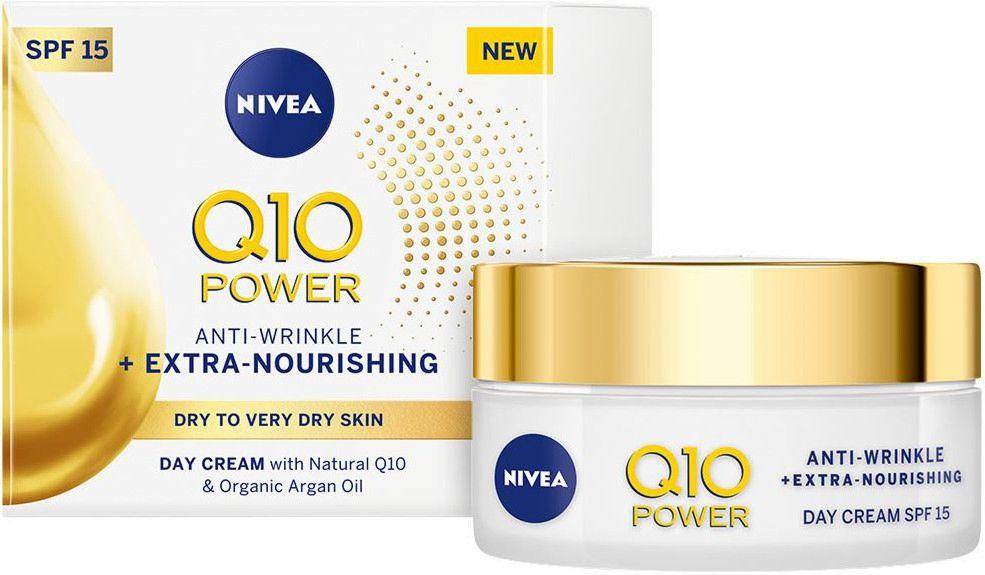 Nivea Q10 Power - Дневен крем за лице против бръчки - store.bg