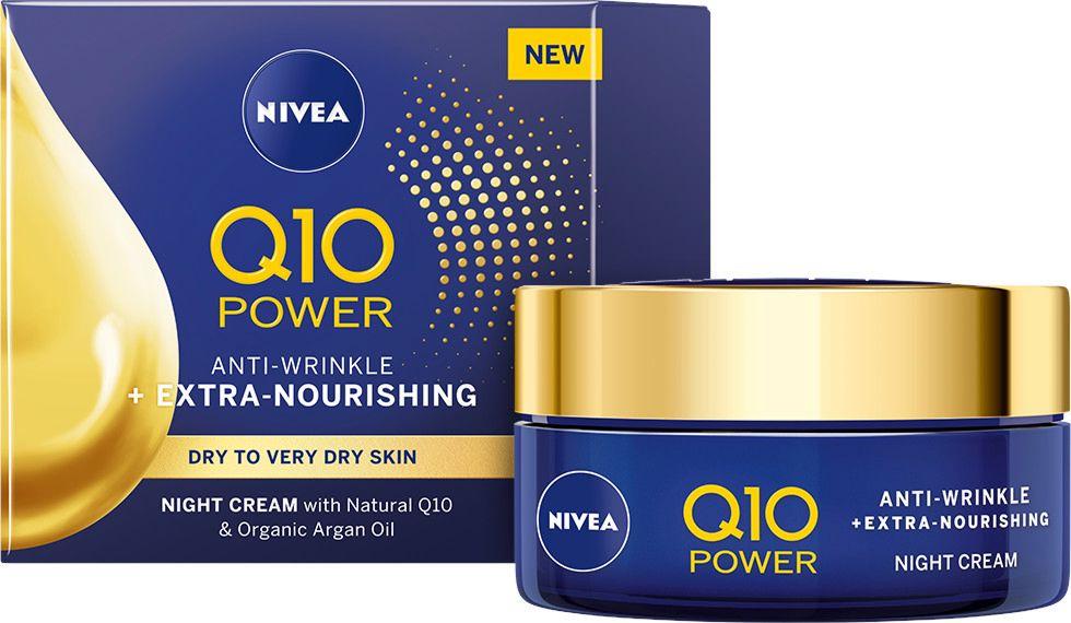 Nivea Q10 Power - Нощен крем за лице против бръчки - store.bg
