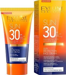 Eveline Sun - Слънцезащитен крем за лице - store.bg