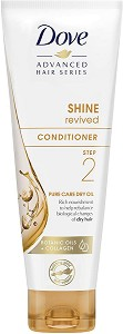 "Dove Advanced Hair Series Shine Revived Conditioner Pure Care Dry Oil - Балсам за суха коса от серията ""Pure Care Dry Oil"" - балсам"