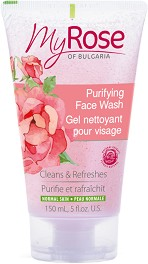My Rose Purifying Face Wash - Почистващ гел за лице - гел