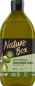 Nature Box Olive Oil Softening Shower Gel - Натурален душ гел с масло от маслина - душ гел