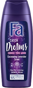 Fa Catch Dreams Shower Gel - Душ гел с успокояващ аромат на лавандула - душ гел