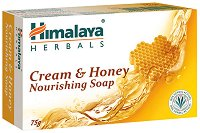Himalaya Cream & Honey Nourishing Soap - Крем-сапун с мед - сапун