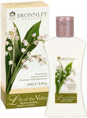 "Bronnley Lily of the Valley Moisturising Body Lotion - Овлажняващ лосион за тяло от серията ""Lily of the Valley"" - душ гел"