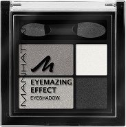 Manhattan Eyemazing Effect Eyeshadow Quattro - Четирицветни сенки за очи за опушен грим - сенки