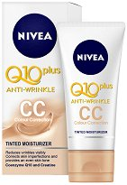 "Nivea Q10 plus Anti-Wrinkle CC Cream - SPF 15 - CC крем против бръчки с коензим Q10 от серията ""Q10 plus"" -"