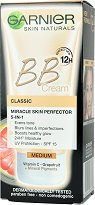 Garnier Skin Active BB Cream Classic All-In-One - SPF 15 - BB крем за изравняване на тена -