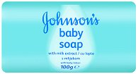 Johnson's Baby Soap with Milk Extract - Бебешки сапун с млечен протеин - балсам