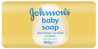 Johnson's Baby Soap with Honey - Бебешки сапун с екстракт от мед -