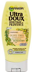 Garnier Ultra Doux Provence Rosemary And OIive Tree Conditioner - Балсам за нормална коса с розмарин и маслиново дърво -