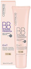 Catrice BB Allround Foundation 6 in 1 - SPF 30 - BB фон дьо тен 6 в 1 -