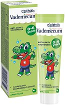 My Little Vademecum Green Apple Toothpaste - Детска паста за млечни зъби с вкус на зелена ябълка -