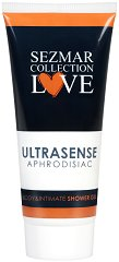 "Афродизиак душ гел за тяло и интимна зона - Ultrasense - От серията ""Sezmar Collection Love"" - душ гел"