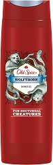 "Old Spice Wolfthorn Shower Gel - Душ гел за мъже oт серията ""Wolfthorn"" - дезодорант"
