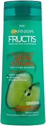 "Garnier Fructis Grow Strong Anti-Dandruff Shampoo - Шампоан против пърхот за тънка и късаща се коса ""Fructis Grow Strong"" - шампоан"