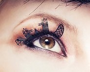 Paperself London Skyline Eyelashes - Декоративни мигли -
