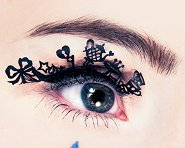 Paperself Tea Party Eyelashes - Декоративни мигли -