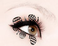 Paperself Clown Eyelashes - Декоративни мигли -