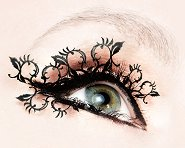 Paperself Peach Blossoms Eyelashes - Декоративни мигли -
