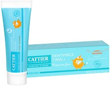 Cattier Toothpaste Orange - Детска паста за зъби с вкус на портокал  -