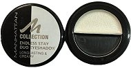 Manhattan Collection Endless Stay Duo Eyeshadow - Кремообразни дуо сенки за очи -