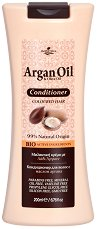 HerbOlive Argan Oil & Olive Oil Conditioner - Балсам за боядисана коса с масла от арган и маслина -