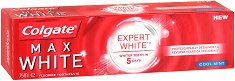Colgate Max White Expert - Избелваща паста за зъби - шампоан