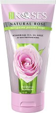 "Nature of Agiva Roses Face Wash Gel - Измиващ гел за лице от серията ""Nature of Agiva - Roses from Bulgaria"" - крем"
