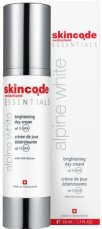 "Skincode Essentials Alpine White Brightening Day Cream - SPF 15 - Избелващ дневен крем за лице от серията ""Essentials Alpine White"" -"
