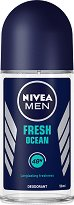 Nivea Men Fresh Ocean Deodorant Roll-On - Ролон дезодорант за мъже -