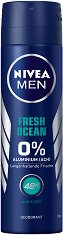 Nivea Men Fresh Ocean Deodorant - Дезодорант за мъже - паста за зъби