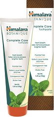 Himalaya Botanique Complete Care Toothpaste - Simply Mint - Паста за зъби за цялостна грижа с нийм, нар и мента -