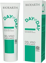 "Bioearth Day by Day Gel Viso Purificante - Гел за лице за мазна кожа, склонна към акне от серията ""Day by Day"" -"
