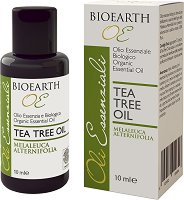 Bioearth Organic Essential Oil Tea Tree Oil - Био етерично масло от чаено дърво -