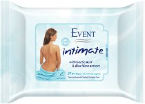 Event Intimate Wet Wipes - Интимни мокри кърпички с алое вера и млечна киселина -