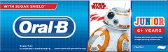 Oral-B Star Wars Toothpaste Junior 6+ - Детска паста за зъби -