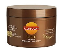 Carroten Gold Shimmer Tanning Gel - Гел за интензивен тен -
