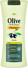 HerbOlive Shampoo Olive Oil & Honey - Шампоан за мазна коса с маслина и мед -