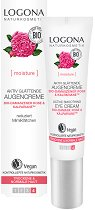 "Logona Active Smoothing Eye Cream Bio-Damask Rose & Kalpariane - Околоочен крем с био роза от серията ""Bio-Damask Rose"" -"