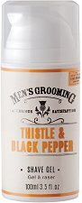 "Scottish Fine Soaps Men's Grooming Thistle & Black Pepper Shave Gel - Гел за бръснене от серията ""Men's Grooming"" -"