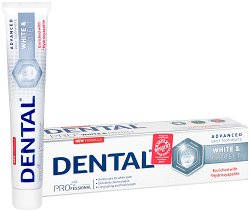 Dental Pro White & Protect Toothpaste - Избелваща и защитаваща паста за зъби -