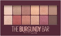 Maybelline Burgundy Bar Palette - Палитра сенки за очи - маска