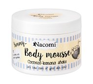 Nacomi Body Mousse Coconut-Banana Shake - Мус за тяло с аромат на кокосово-бананов шейк -