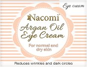 Nacomi Argan Oil Eye Cream - Околоочен крем с масла от арган и гроздови семки -