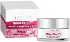 Rubelia Ideal Beauty Wrinkle Correction Control Cream - Крем за лице против бръчки -