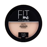 Maybelline Fit Me Matte + Poreless Powder - Матираща пудра за лице - фон дьо тен