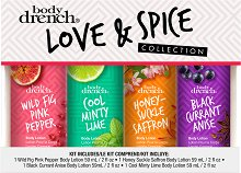 Body Drench Love & Spice Collection - Комплект лосиони за тяло -