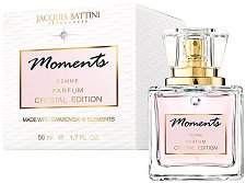 "Jacques Battini Moments Crystal Edition Parfum - Дамски парфюм от серията ""Swarovski Elements"" - продукт"