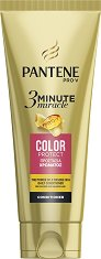 "Pantene 3 Minute Miracle Color Protect Conditioner - Балсам за боядисана и увредена коса от серията ""3 Minute Miracle"" - крем"
